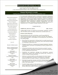 Hr Executive Resume Samples Human Resource Management Resume Hr