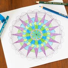 Small Picture Create Your Own Mandala Adult Coloring Pages You Should Craft