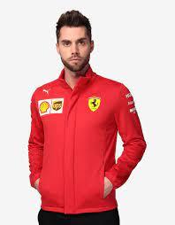 Ferrari Men S Scuderia Ferrari 2020 Replica Team Softshell Jacket Man Scuderia Ferrari Official Store