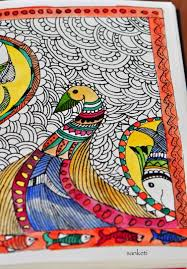madhubani indian folk art