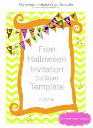 Free Halloween Birthday Invitation Templates Halloween Party Invitation Template Beautiful Free Printable