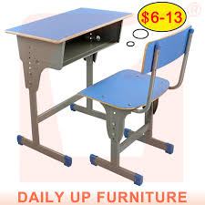 school desk. Cheap School Desk And Chair Manufacturers Wooden Furniture Price List Study Single Classroom Attached - Buy K
