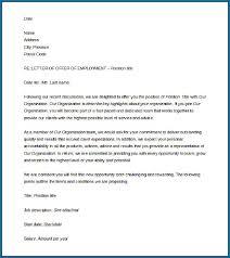 Free Download Letter Job Offer Letter Template Free Download 713