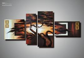 amazing wall art canvas wall art set of 4 wood wall art bedroom pictures intended for canvas wall art sets ordinary  on canvas wall art sets of 4 with awesome 2017 100 handpainted unstretched acrylic abstract canvas