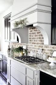 facade tile backsplash kitchen interior brick wall white brick tile medium  size of kitchen brick wall