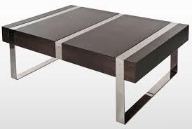 contemporary coffee table  wooden  metal  morton  orm