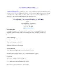 Cover Letter Sample Internship Resume For College Students