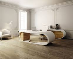 interesting home office desks design black wood. Fascinating Floor To Ceiling Curtain In Front Of Black Back Chair Outstanding Rectangular Modern Office Desk Interesting Home Desks Design Wood