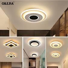 modern led ceiling lamp er black