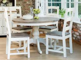 farmhouse kitchen table sets and french country round