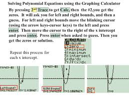 10 solving polynomial