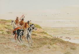 Byron Wolfe   Prelude to the First Battle of Adobe Walls sold at auction on  21st February   Bidsquare