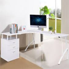 office working table. Image Is Loading White-Wood-Corner-Office-Executive-Computer-PC-Desk- Office Working Table Y