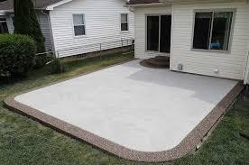 plain concrete patio. Plain Concrete Stamped Concrete Patios  Unique Cement  Photos Michigan Throughout Plain Patio Pinterest