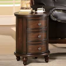 round accent tables with drawers living home designs accent table with drawers