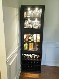 display cabinet home liquor cabinet ideas wooden bar unit liquor