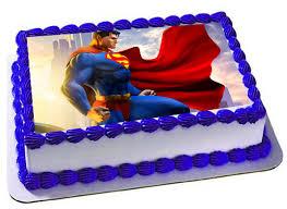 superhero sheet cake superman edible cake topper superman frosting sheet superman
