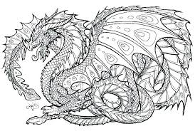 Free Scary Dragon Coloring Pages Filelockerinfo