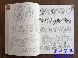 tattoo books chinese national painting book how to draw horse tattoo designs book tattoo sketchbook in tattoo accesories from beauty health
