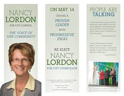 Campaign Brochure Political Party Brochure Examples