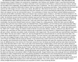 essay witchcraft essay