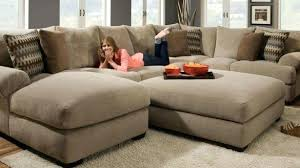 Comfy Sectional Sofa L Shaped Couches Leather Sectional Sofa With