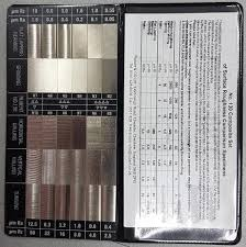 Surface Roughness Chart Mgw Surface Roughness Comparison Chart Srcc 30