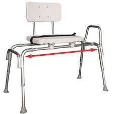 picture of sliding transfer bench
