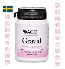Aco gravid vitaminer