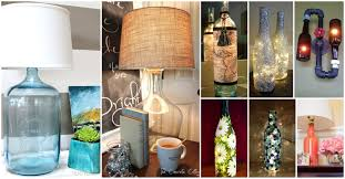 Glass Bottle Lamps 25 Diy Bottle Lamps Decor Ideas That Will Add Uniqueness To Your Home