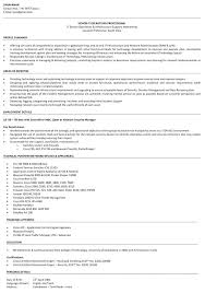 Sample Resume For Fresher Software Engineer Resume Directory