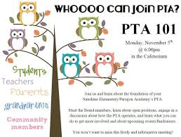 Pta Elections Flyer Pta Meeting Flyer Nice Graphics And Very Welcoming Pto Pta
