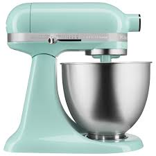 kitchenaid artisan mini stand mixer 3 5qt ice blue stand mixers best canada