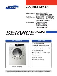 samsung dryer service manual dv210agw xaa clothes dryer ac power samsung dryer service manual dv210agw xaa clothes dryer ac power plugs and sockets