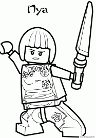 Stunning Ninjago Coloring Pages Pdf Lego Download Book Animals