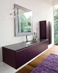 bathroom vanity design. Contemporary Bathroom Vanity Ideas To Inspire You : Magnetism Of Exclusive Violet Modern Vanities Design
