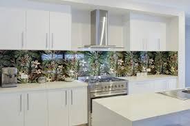 nature printed kitchen splashbacks