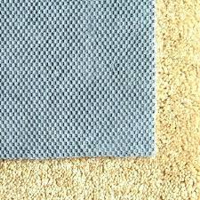 felt rug pad 8x10 slip underlay non mat and rubber
