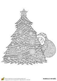 Coloriage Mandala Noel Sur Hugolescargot Com