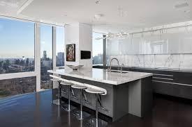contemporary kitchen office nyc. Modern Kitchen In Manhattan Apartment Contemporary Office Nyc