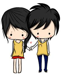 anime love couple png hd