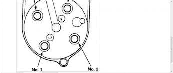 1994 honda civic spark plug firing order on distruter cap 1 5l