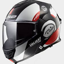 Ls2 Size Chart India Details About Ls2 Valiant Ff399 Avant Modular Helmet White Black Red