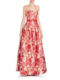 Red Brocade Gown (Page 1) - Line.17QQ.com