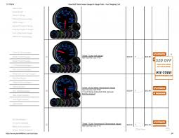 custom gauge cluster ih8mud forum glowshift performance gauges gauge pods your shopping cart page 002 jpg