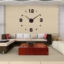 big 3d wall clock