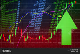 Free Stock Market Charts And Graphs Success Stock Market Image Photo Free Trial Bigstock