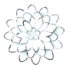 pink metal flower wall art decor oversized and white simple flowers design decoration of flo pink metal flower wall art
