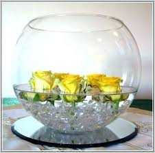 glass bowl wedding centerpieces ideas decoration centerpiece decorating large vase home design l center