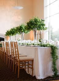 Wedding Reception Arrangements For Tables 15 Best Greenery Wedding Centerpieces Green Centerpieces For Wedding